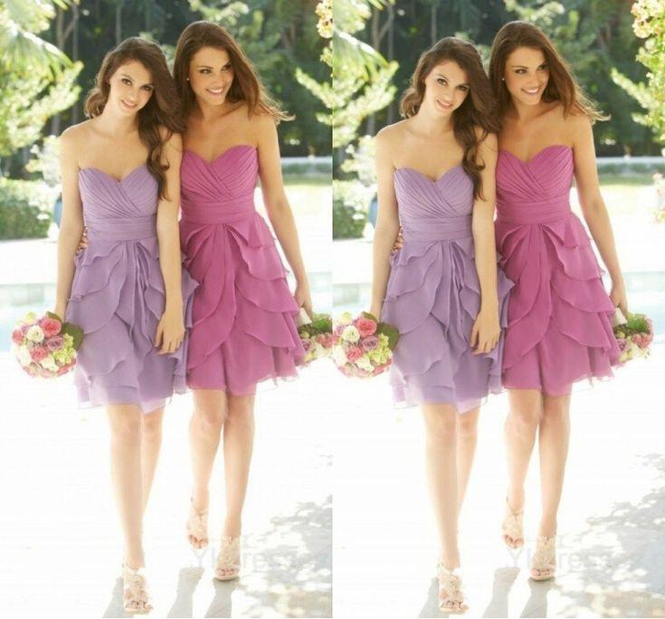 1000  ideas about Bridesmaid Mini Dresses on Pinterest - Coral ...