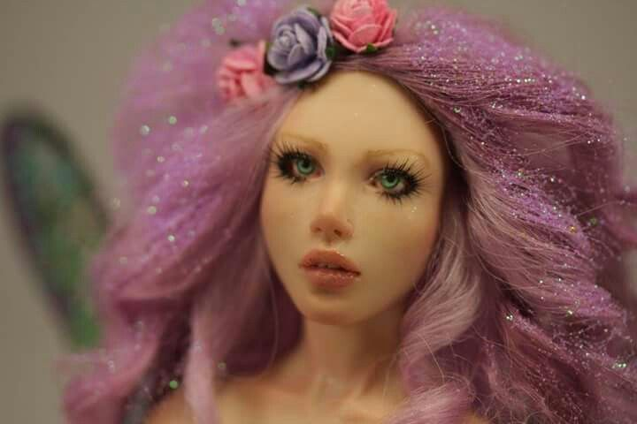 Frosty Pink by Elettra Land - close up