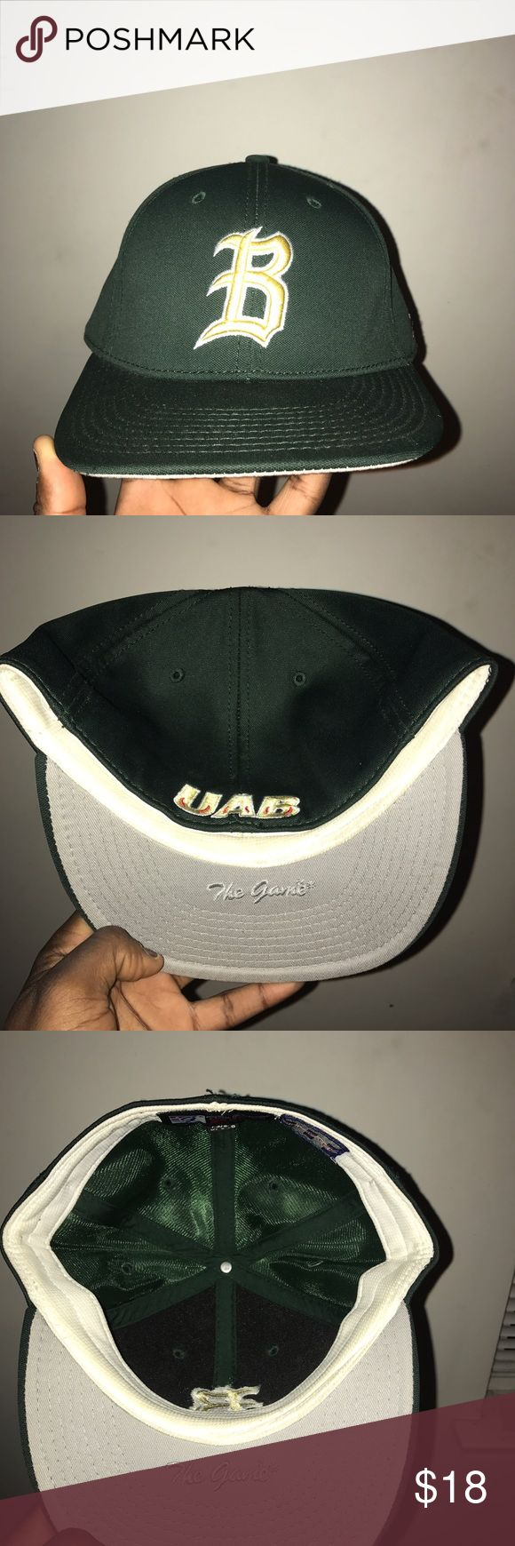 The Game Pro UAB Collage team cap The Game Pro UAB Collage team cap worn 2x The Game Pro Accessories Hats