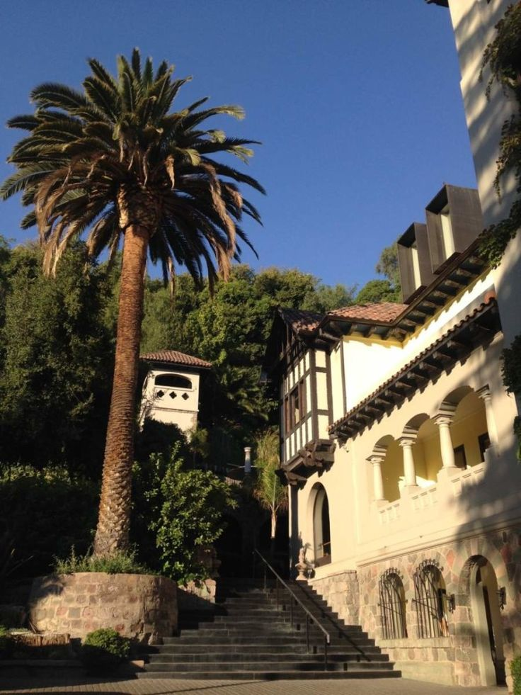 The luxury boutique hotel, Hotel Aubrey in Bellavista Santiago