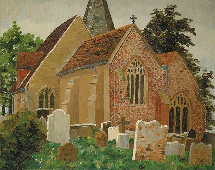 Sir Cedric Lockwood Morris (1889–1982) ~ Herstmonceux Church, Hailsham, East Sussex