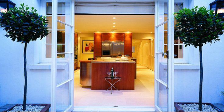 Pristine Patio and Kitchen
