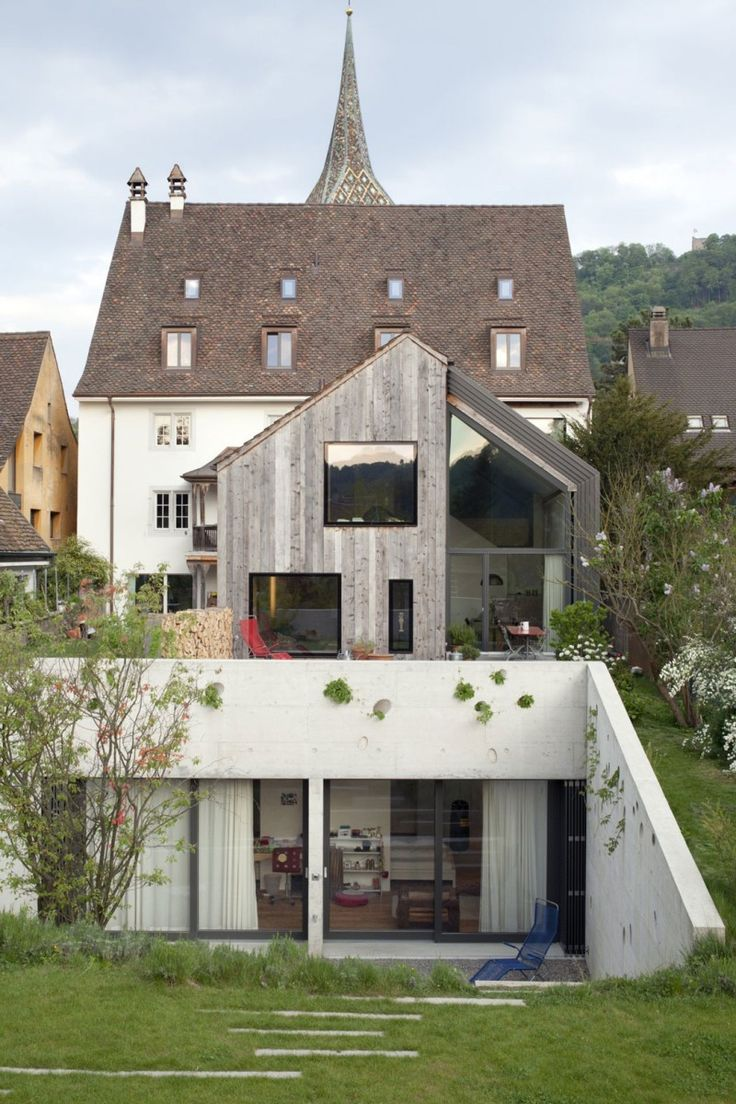 Kirchplatz Office + Residence by Oppenheim Architecture + Design   HomeDSGN, a daily source for inspiration and fresh ideas on interior design and home decoration.