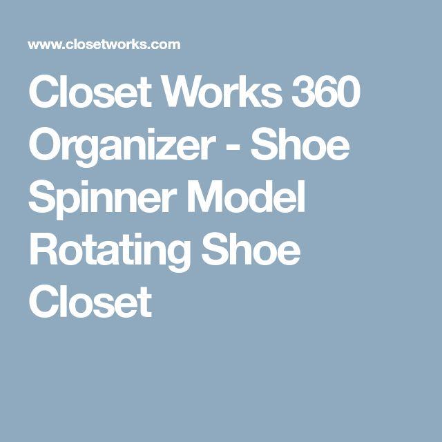 Mer Enn 25 Bra Ideer Om Rotating Shoe Rack Pa Pinterest