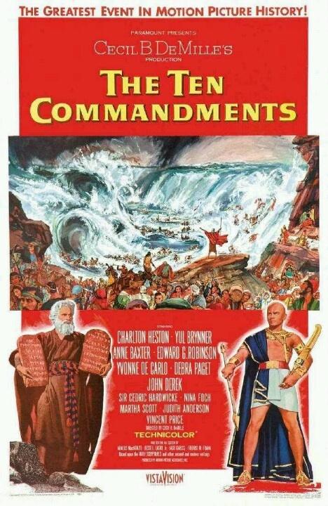 1956 - Los diez mandamientos - Cecil B. DeMille