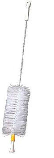 Şişe temizleme fırçası Çok amaçlı model, bira ve şarap şişelerini,damacanaları temizlemek için ideal malzeme.  Naylon uçlu fırça Uzunluk: 45 cm Fırça uzunluk ve çapı (H x Ø): 15 x 7 cm
