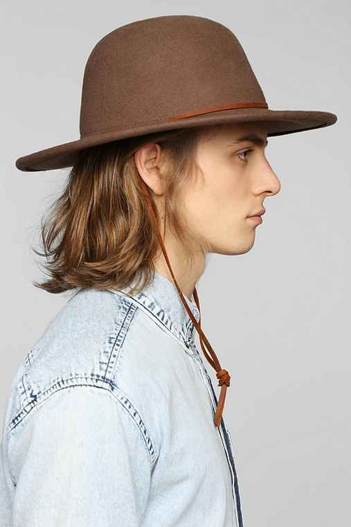 b19b5098 Brixton Tiller Fedora | STYLE | Men closet, Hats, Accessories