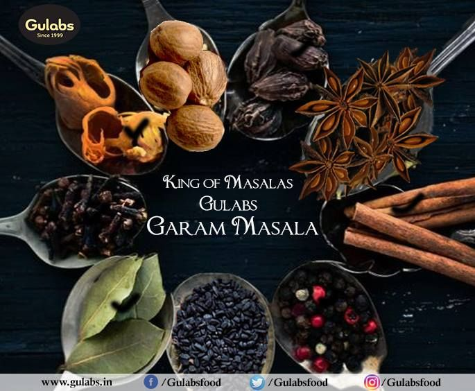 The King of Masalas - #GaramMasala adds an extra-ordinary flavor to your food :D  #gulabs #food #foodporn #foodie