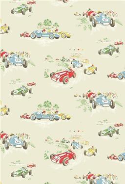 Vintage Car Wallpaper- Cath Kidston - if pip is a boy