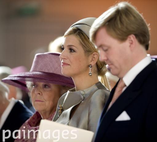 NETHERLANDS ROYALS ARIANE - Images - Press Association