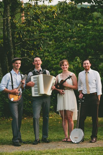Vintage Wedding Band with a Folk sound! idk who they are but this is exactly what i want!