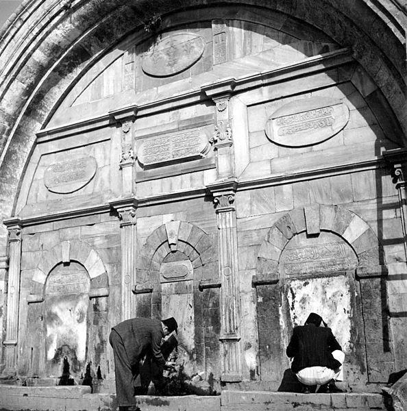 סביל שער יפו 1890