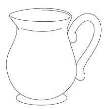 Resultado de imagen para jarra del buen beber para colorear