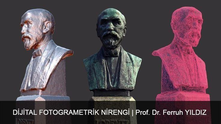 Selçuk Üniversitesi Harita Mühendisliği Prof. Dr. Ferruh YILDIZ Tarafından Öğrencilerine ders verirken kullandığı Dijital Fotogrametri dersi sliderı