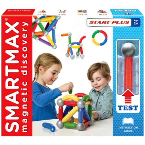 SmartMax Magnetic Discovery ~ Start Plus ~ 30 piece set ~  Age: 1