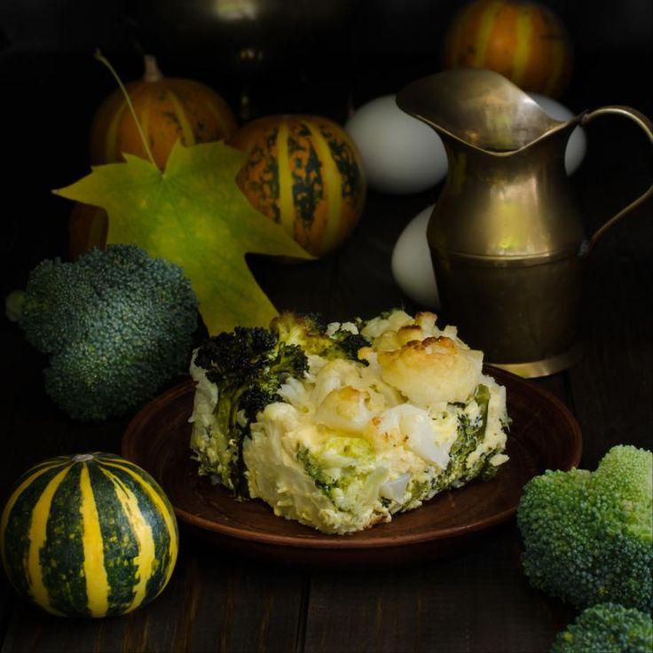 Omelet quiche met broccoli of spinazie - Rineke Dijkinga