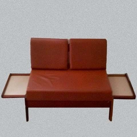 Sof cama gelli anos 70 branco r 200 original r 650 - Sofa cama original ...