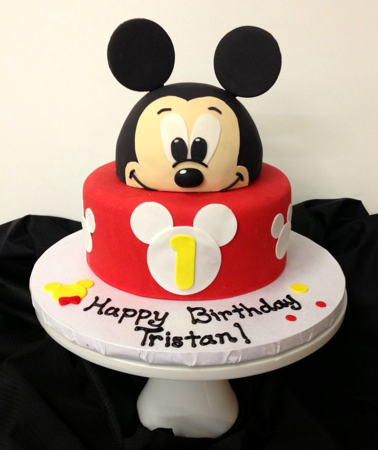 Birthday Cake Pictures Of Mickey Mouse : MICKEY MOUSE BIRTHDAY CAKES - Fomanda Gasa