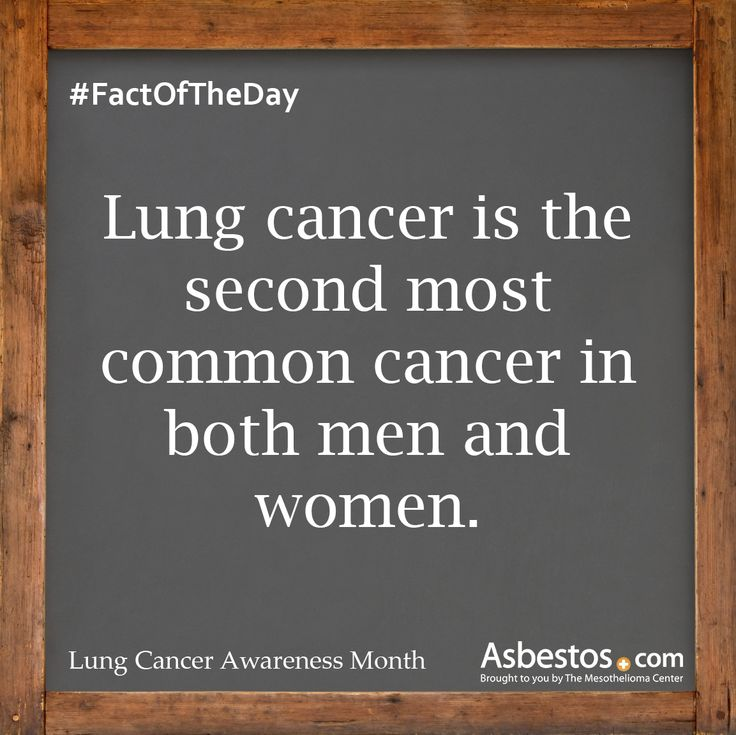 November is Lung Cancer Awareness Month, which means 30 days of raising awareness about the second most common cancer in both men and women (excluding skin cancer.)