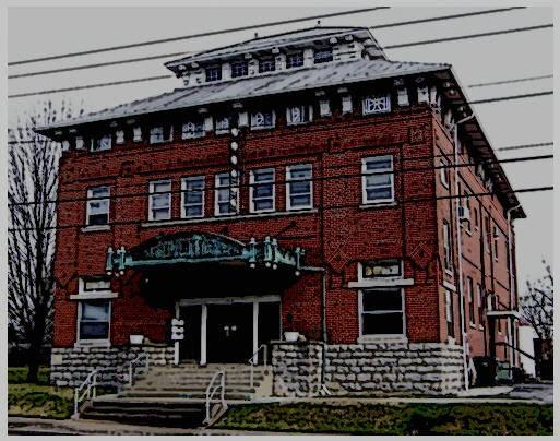 Morrison Masonic Lodge, Elizabethtown Kentucky. The lodge has witnessed a tapestry of tragedy and death, as well as the blood and violence of the Civil War. Spirits are rumored to be lingering within the old building's brick walls.