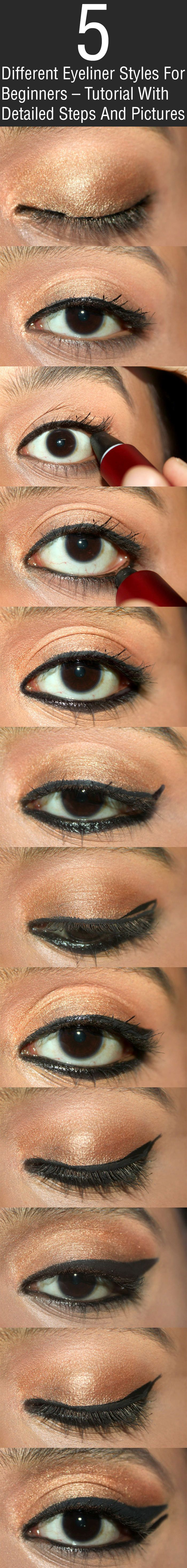 how to use eyeliner for beginners
