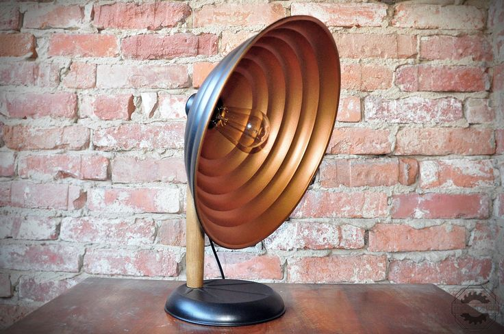 Lamp made from a vintage radiator #handmade #upcycling #design #loft #industrial #manufactor #vintage #DIY