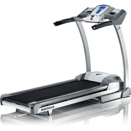 Nautilus T516 Electric Treadmill, Gray