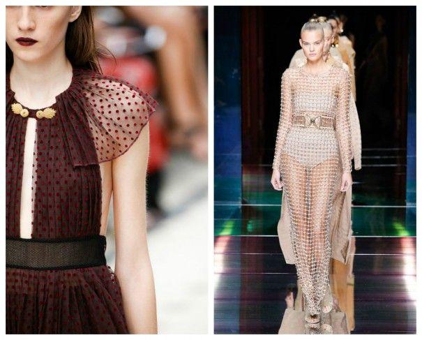 TRASPARENZE Moda primavera estate 2016: la lista completa delle tendenze!