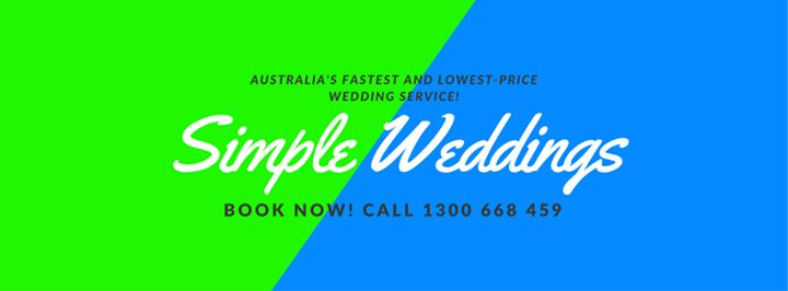 Discover a convenient way to enjoy a hassle free wedding in Australia. Book now by calling 1300 668 459 or visit our website at http://bit.ly/2lrXKnh