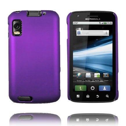 Hard Shell (Violetti) Motorola Atrix 4G Suojakuori