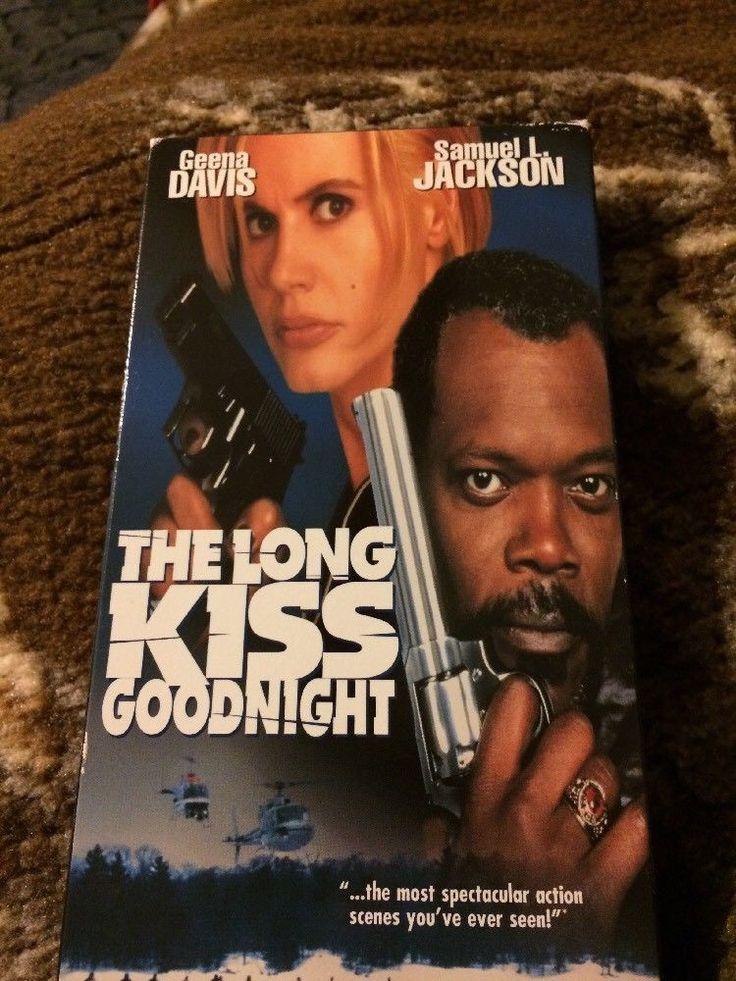The Long Kiss Goodnight - Geena Davis, Samuel L. Jackson Movie (VHS) B6  | eBay