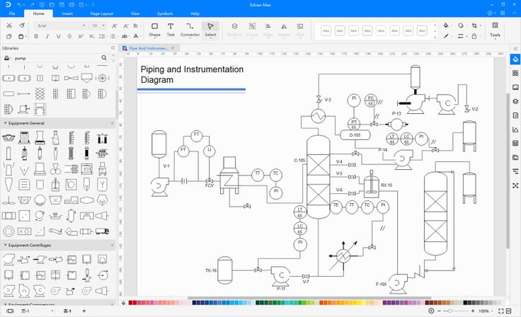 How To Read Piping And Instrumentation Diagram In 2020