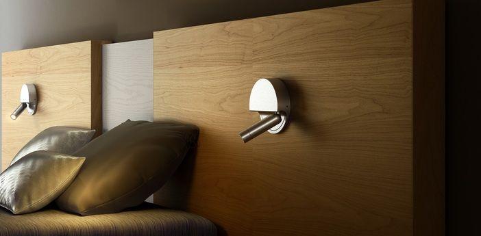 Applique murale LED Tube en aluminium éditée par Marset et réalisée par Daniel Lopez. #applique #murale #led #tube #aluminium #marset #daniel #lopez #luminaire #design #chambre #indoor #lighting #room