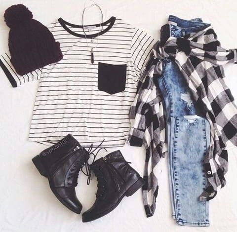| outfit idea - minimal capsule wardrobe - wear black - project 33 - dream wardrobe 25 - street wear -  street style - grunge outfit. college student
