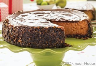 Chocolate Cappuccino Cheesecake recipe from Gooseberry Patch More