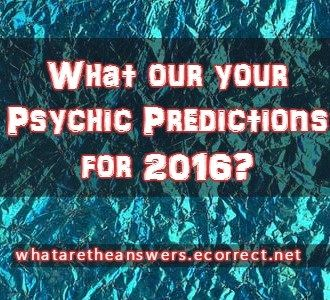 psychic predictions for 2016