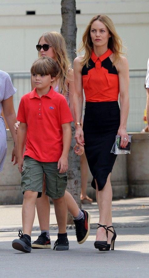 Vanessa Paradis har barnen  Lily-Rose Melody Depp och Jack John Christopher Depp III