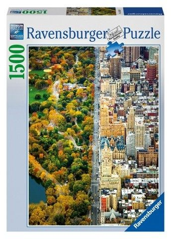 Ravensburger Divided Town - 1500pc Puzzle
