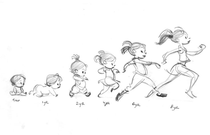 "Glen Keane, Mia progression for ""Duet"""