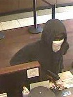 FBI Releases Photographs of a Bank Robbery at a Chase Bank Branch Located in Plantation