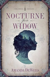 Nocturne for a Widow by Amanda DeWees || Cover Love