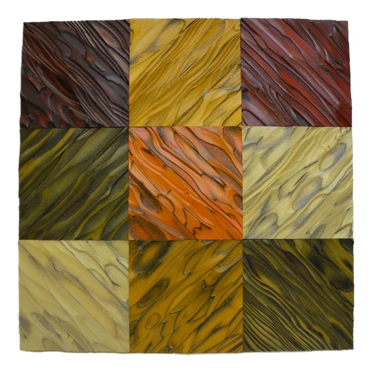 "8"" x 8"" decorative wood tiles assembled into 24"" x 24"" wall panel. 8"" x 8"" wood tiles can be used individually"