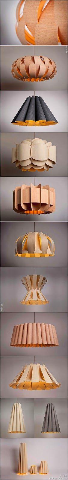 Luminárias de Papel