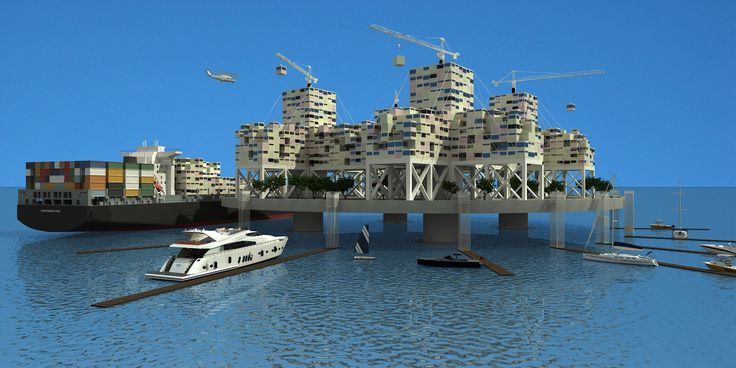 Floating libertarian countries in international waters - Aug 2011 - Anthony Ling/SeaSteading/REX