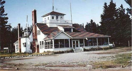 Very old Hiawatha Lodge