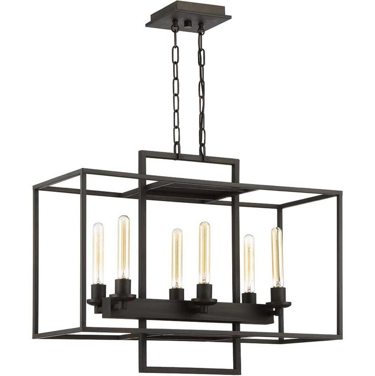 Cubic Linear Chandelier | Craftmade at Lightology