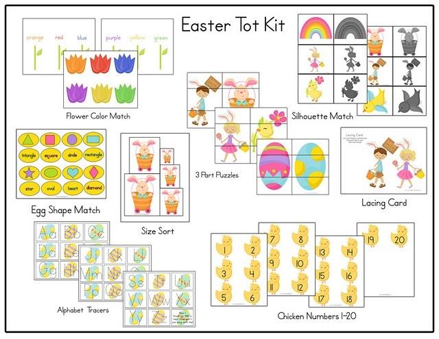 Easter Tot Kit