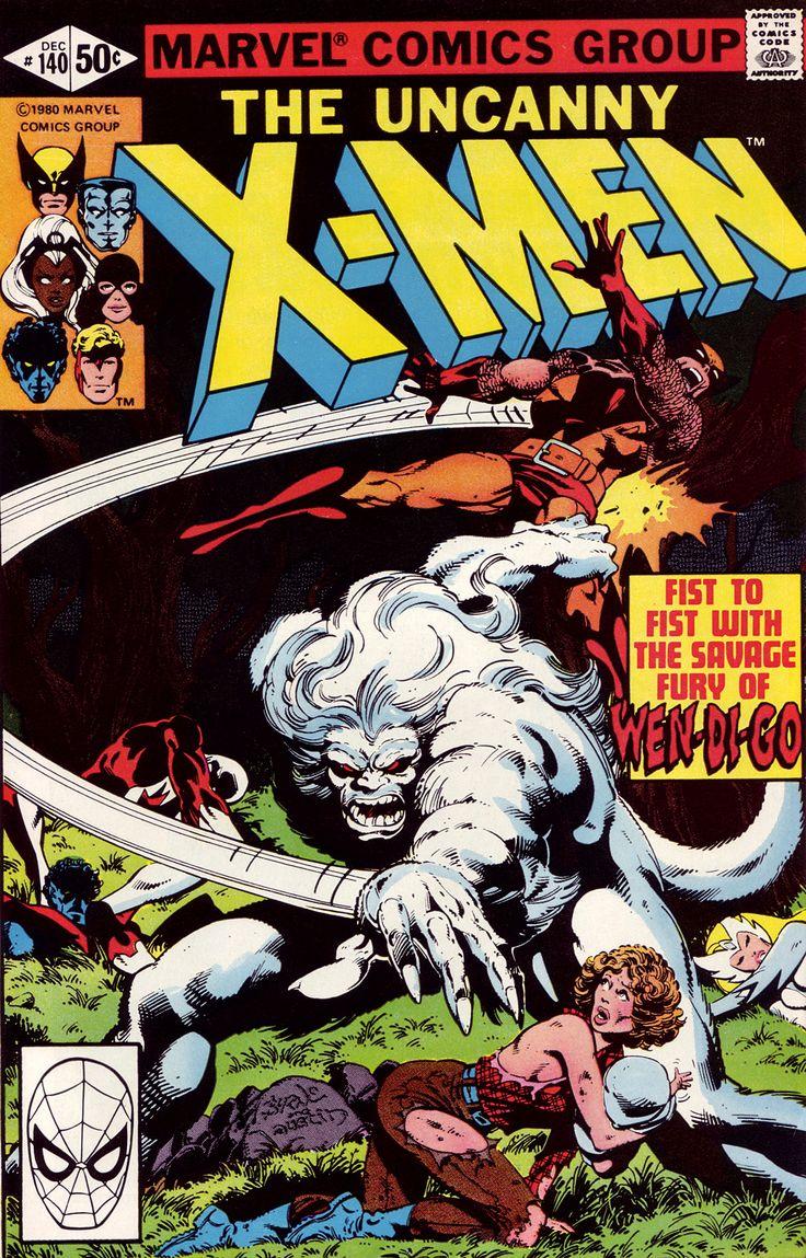 Uncanny X-Men #140 (Marvel 1980) Cover Art by John Byrne Inked by Terry Austin