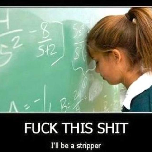I am ashamed at how much I love this... And I'm a math person!