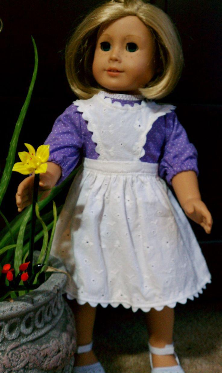 White eyelet apron - White Eyelet Lace Apron